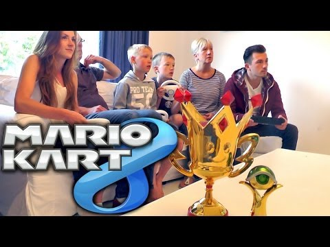 Mario Kart 8 (Round 3 of 4) – Family Championships with F1 Commentary - YouTube thumbnail