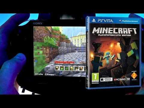 Minecraft Vita Hands-On Game-Play (PS4, Dual Shock 4, Trophies Details) - YouTube thumbnail