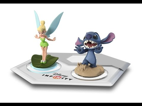 Tinker Bell and Stitch Lands in Disney Infinity 2.0 - YouTube thumbnail