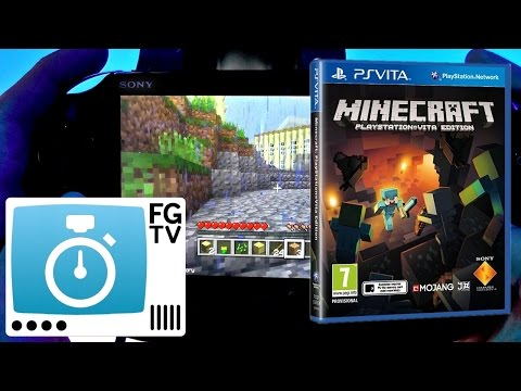2 Minute Guide: Minecraft Vita, PS3, PS4 - YouTube thumbnail