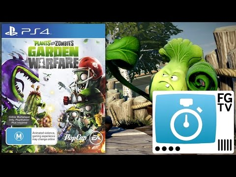 2 Minute Guide: Plants vs Zombies Garden Warfare PS3, PS4, 360, Xbox One - YouTube thumbnail