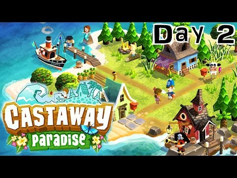 Castaway Paradise iPad Diary Day 2 – Collecting Gems & Unlocking Island - YouTube thumbnail