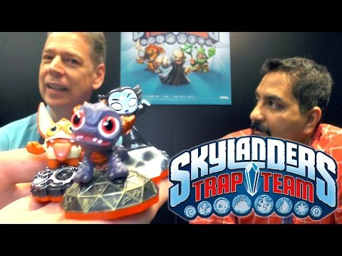 CEOs Talk Skylanders Trap Team – Tablet, Minis & New Trap Masters - YouTube thumbnail