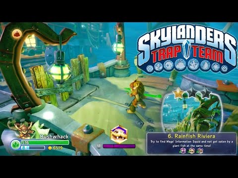 "HUGE Let's Play Trap Team ""Rainfish Riviera"" – Upgrades, Skystones, Direct Feed - YouTube thumbnail"