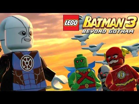 Lego Batman 3 Details – Odym, Beastboy & DC Heroes Galore - YouTube thumbnail