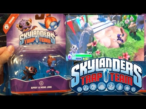 Let's Play Skylanders Minis 20 Mins & Trap Masters Head Rush, Bushwhack - YouTube thumbnail