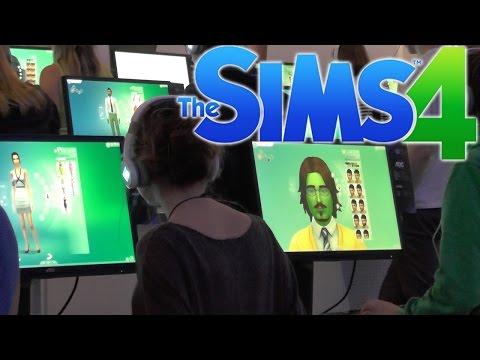 Sims 4 Preview & Game-Play Analysis - YouTube thumbnail