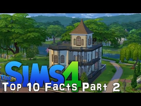 Sims 4 VIP Top 10 Facts (Part 2 of 2) - YouTube thumbnail