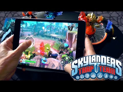 Skylanders Trap Team Mobile – Full Console Game on iPad, Kindle, Android - YouTube thumbnail