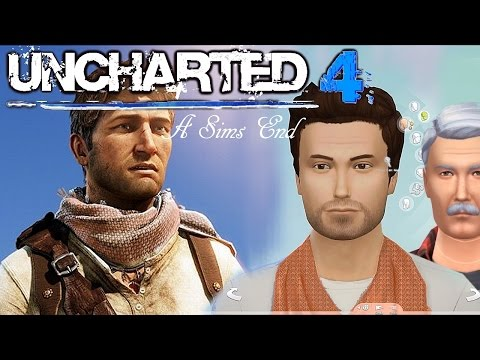 Uncharted 4′s Nate and Sully Recreated in The Sims 4 - YouTube thumbnail