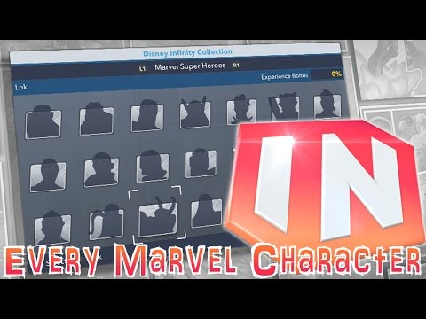 All 21 Disney Infinity 2.0 Marvel Characters – Expert Comic Analysis - YouTube thumbnail