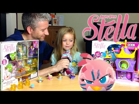 Angry Birds Stella: Piggy Palace Playset Telepods – Kid's Review - YouTube thumbnail