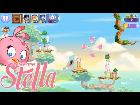 Angry Birds Stella Review – First 15 Minutes with Stella, Poppy & Luca - YouTube thumbnail
