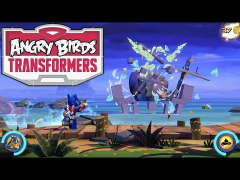 Angry Birds Transformers Game-Play Analysis - YouTube thumbnail