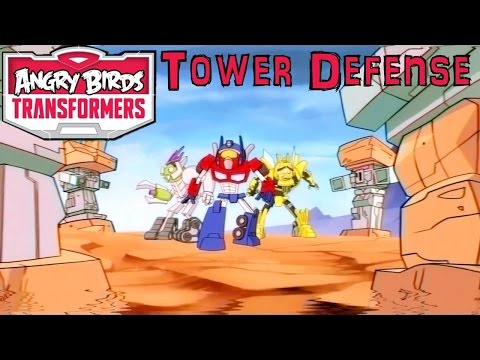 Angry Birds Transformers Launches 15th Oct – Tower Defense Game-Play? - YouTube thumbnail