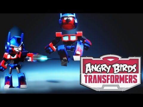 Angry Birds Transformers – Optimus Prime Transformation Analysis - YouTube thumbnail