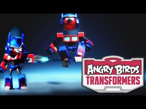 Angry Birds Transformers – Optimus Prime Transformation Analysis - YouTube thumbnail