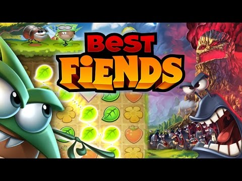 Best Fiends Challenges Angry Birds & Candy Crush - YouTube thumbnail