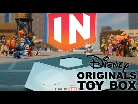 "Disney Infinity Originals ""Toy Box Combo"" Review – First 10 Mins & All 9 Characters - YouTube thumbnail"