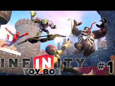 Disney Infinty 2.0 Toy Box: Part 1 – Expanding the Wii U Treasure Chest - YouTube thumbnail