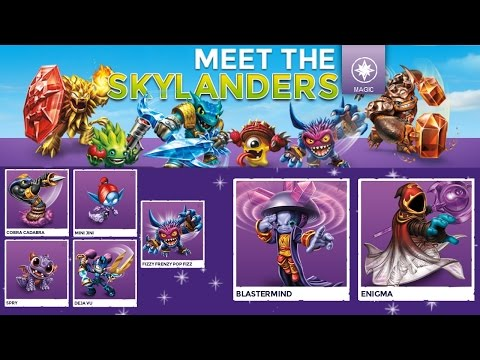 Every Magic Trap Team Skylander – Full Character Analysis - YouTube thumbnail