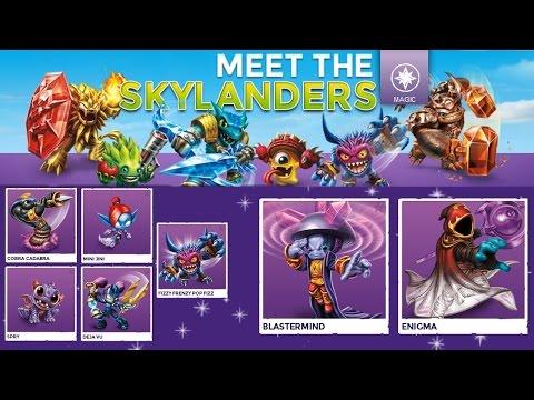 Every Magic Trap Team Skylander – Full Character Analysis - YouTube thumbnail