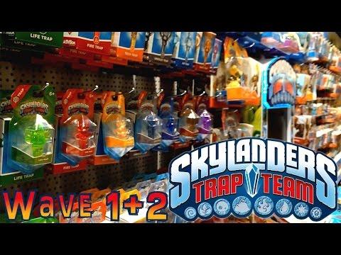 HUGE! Skylanders Trap Team Wave 1 and Wave 2  Analysis - YouTube thumbnail