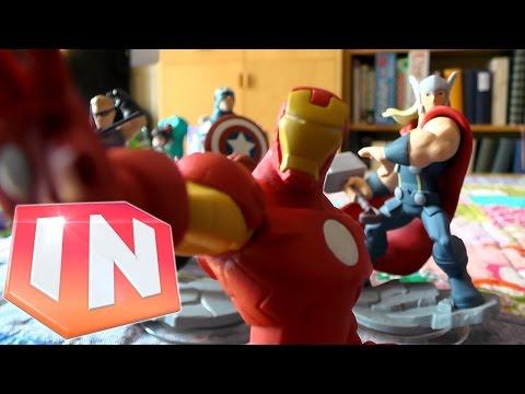 Kids Unbox Disney Infinity 2.0: Avengers Play-Set Starter Pack - YouTube thumbnail