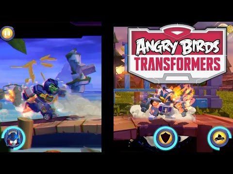 Let's Play Angry Birds Transformers –  First 25 Minutes, In-App Purchases - YouTube thumbnail