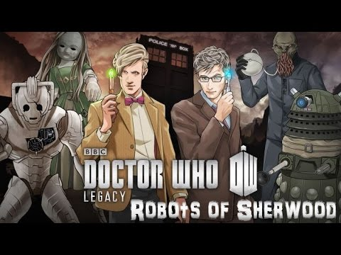 Let's Play Doctor Who Legacy: Robots of Sherwood (Series 8) - YouTube thumbnail