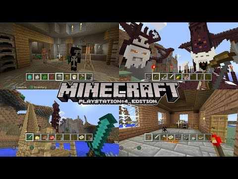 Let's Play Minecraft PlayStation 4 Tutorial - YouTube thumbnail
