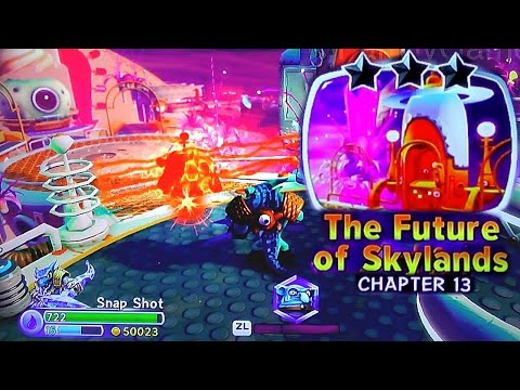 Let's Play Trap Team Chapter 13 Future of Skylands – Unknown Villain, Wolfgang (EGX Plays #6) - YouTube thumbnail