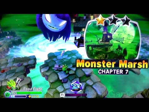 Let's Play Trap Team Chapter 7: Monster Marsh – Dreamcatcher, Chomp Chest and Eye Scream - YouTube thumbnail