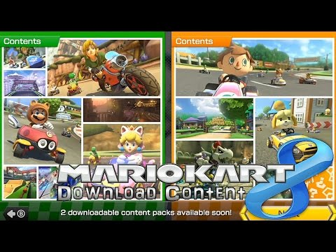 Mario Kart 8 DLC In-Game Anaylsis – Zelda, Animal Crossing, F-Zero - YouTube thumbnail