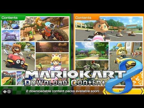Mario Kart 8 DLC In-Game Anaylsis – Zelda, Animal Crossing, F-Zero - YouTube thumbnail