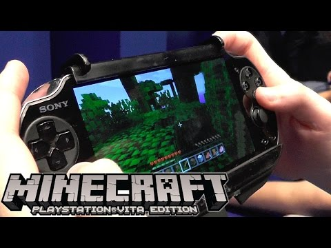 Minecraft Vita Hands-On Preview - YouTube thumbnail