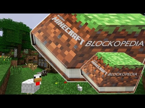 "New ""Minecraft Blockopedia"" Details Every Block Including 1.8 Update - YouTube thumbnail"