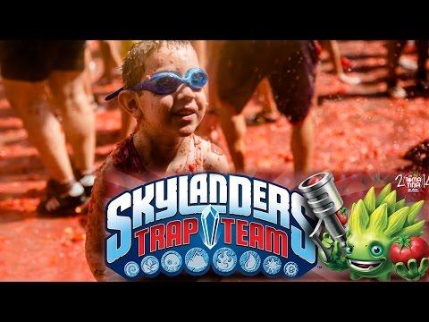 Trap Team Kid's Go Wild At Tomatino Food Fight - YouTube thumbnail