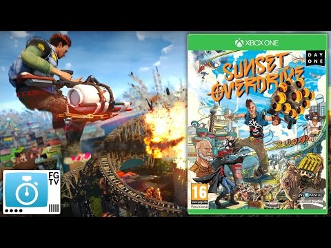 2 Minute Guide: Sunset Overdrive on Xbox One (PEGI 16+ / ESRB 17+ / Common Sense 16+) - YouTube thumbnail