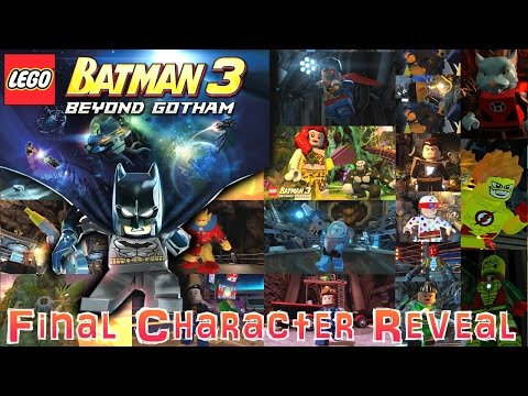 Lego Batman 3 Reveal – Next 30 Character Run-Down Round-Up - YouTube thumbnail