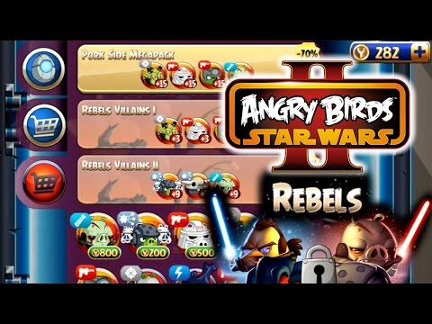Let's Play Angry Birds Star Wars II Rebels – Telepods & Game-Play - YouTube thumbnail