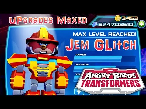 Let's Play Angry Birds Transformers – Gem Glitch (674,000,000) Upgrades Maxed - YouTube thumbnail