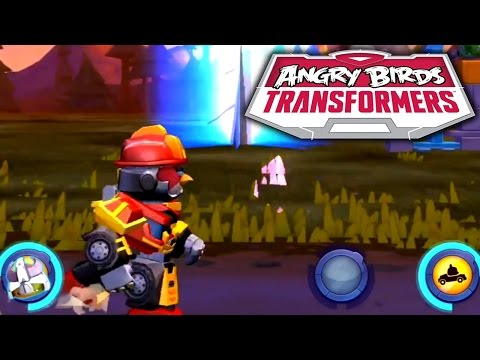 Let's Play Angry Birds Transformers – Maxed: Ultra Magnus, Jazz, Grimlock & Sentinel Prime - YouTube thumbnail