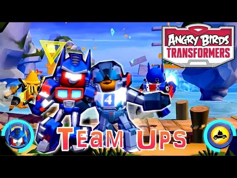 Let's Play Angry Birds Transformers – Team Ups, Soundwave, Jazz, Optimus - YouTube thumbnail