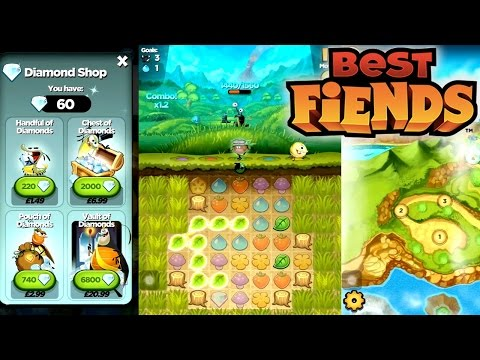 Let's Play Best Fiends – First 30 Mins, In App Purchases, Ex Angry Birds Staff - YouTube thumbnail