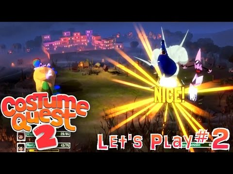 Let's Play Costume Quest 2 #2 – First 18 Doors - YouTube thumbnail