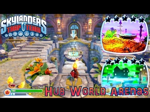 Let's Play Trap Team Academy Hub World – Brock's Arena Battles: Pheonix Nest, Dream Quake - YouTube thumbnail