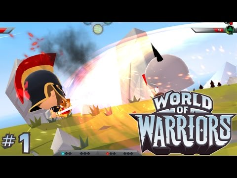 "Let's Play ""World Of Warriors"" #1 – First 30 Minutes on iOS iPad - YouTube thumbnail"