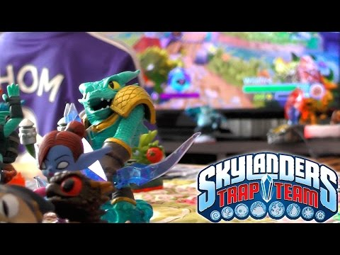 Skylanders Trap Team Review – Wii, Wii U, Xbox One, PlayStation 4, PS4, Xbox 360 - YouTube thumbnail