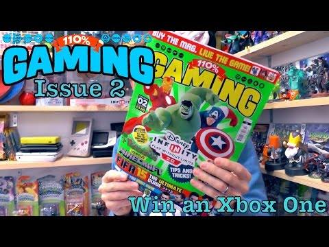 110% Gaming Issue 2 – Win Xbox One & Winners Announced - YouTube thumbnail